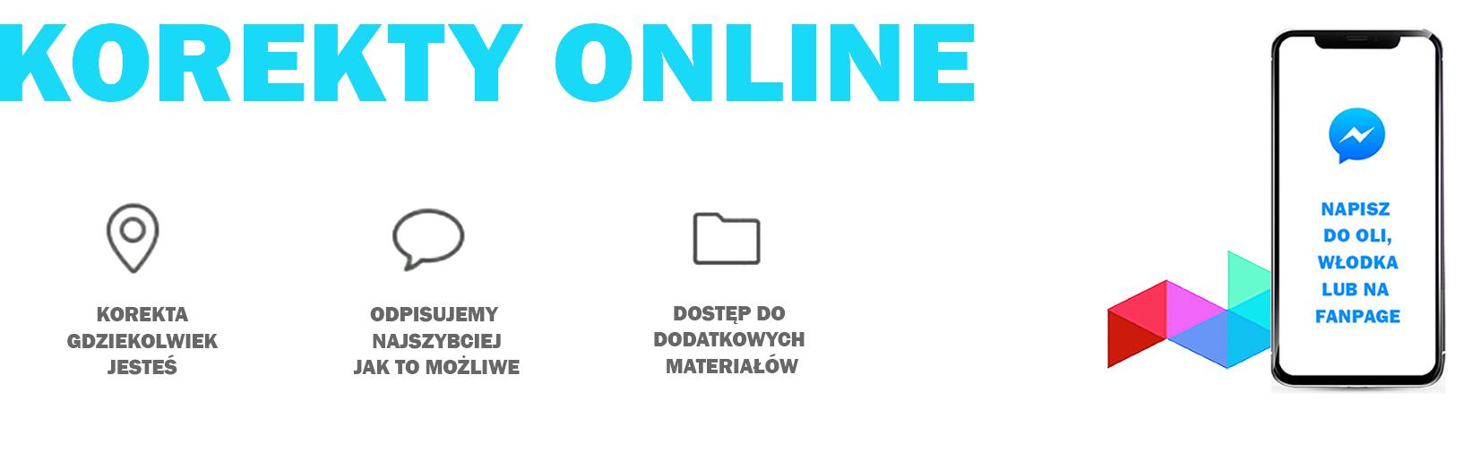 Szkoła PERSPEKTYWA w Warszawie - korekty online